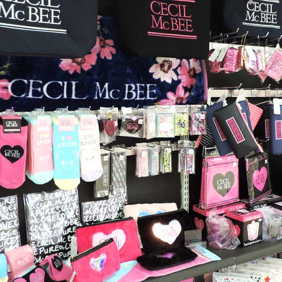 CECIL McBEE stationery collection